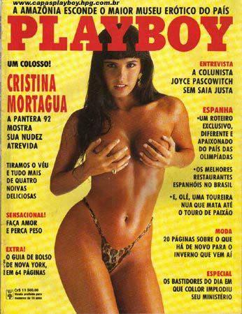 Cristina Mortagua - Playboy 1992