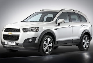 New 2012 Chevrolet Captiva: Price and Specs in India