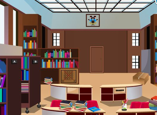 143dressup Public Library Escape Walkthrough