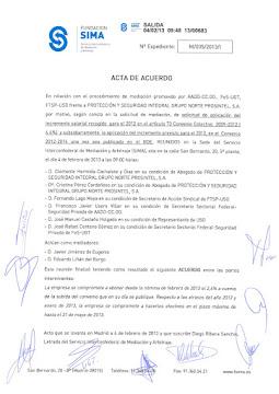 Sima  Prosintel Grupo Norte 4-02-2013