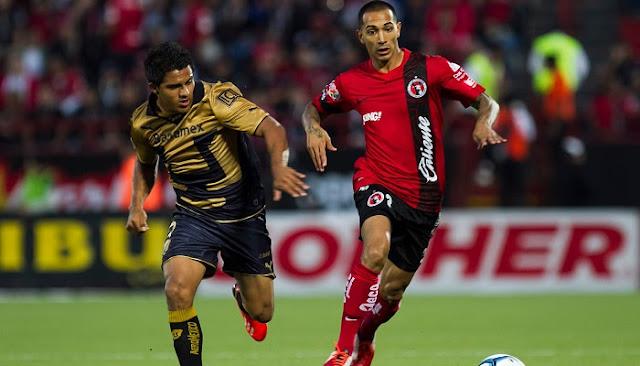 Ver partido Tijuana vs Pumas en vivo