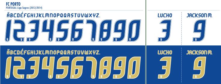 FC Porto 2013-14 kits Font