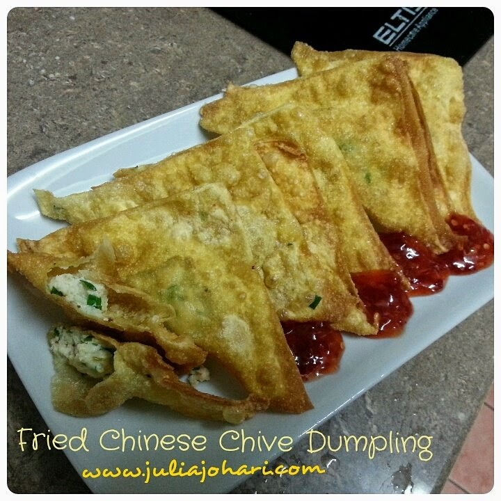 Fried Chinese Chives Dumpling by Julia Masak