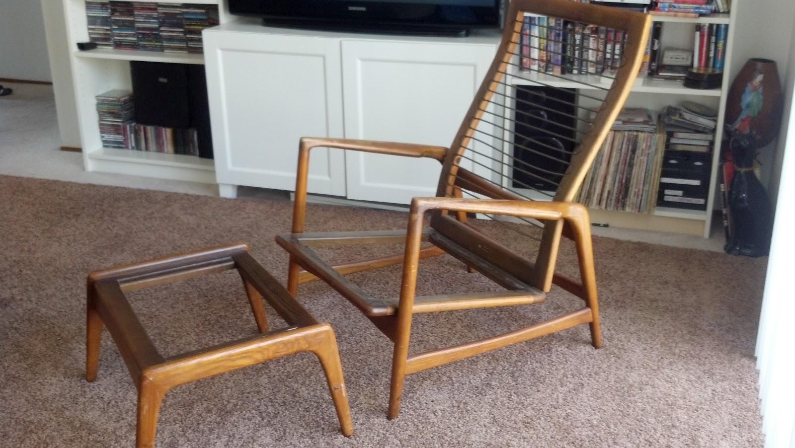 mid century modern furniture restoration. Mid Century Modern Chair Restoration! Furniture Restoration E