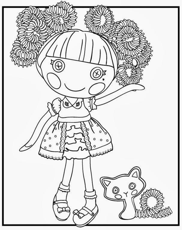 Fantástico Bebé Lalaloopsy Para Colorear Ilustración - Ideas Para ...