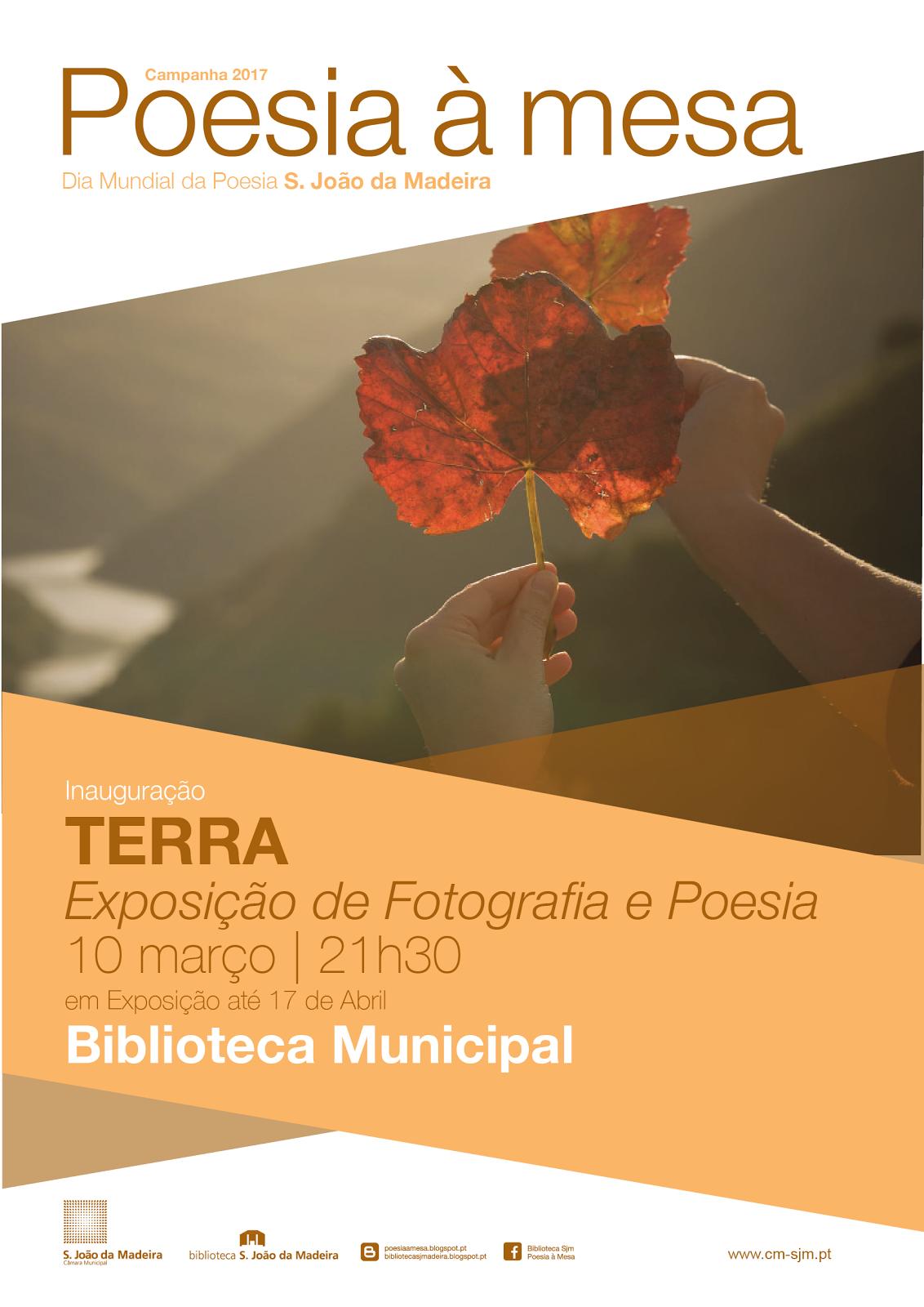 EXPOSIÇÃO DE FOTOGRAFIA E POESIA