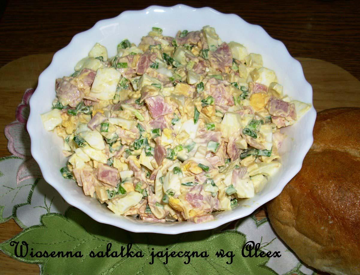 W Mojej Kuchni Wiosenna Sałatka Jajeczna Wg Aleex