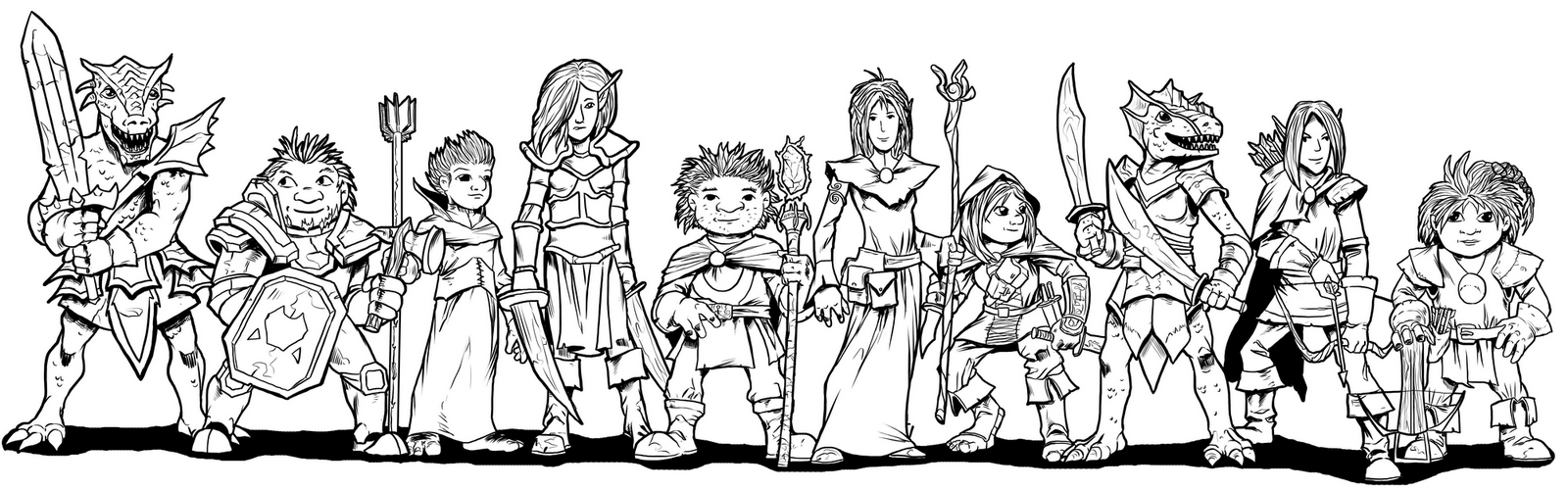 Hero Kids III line-up