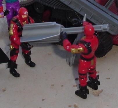 2002 Gift Set Fast Blast Viper, Crimson, 1987 IMP