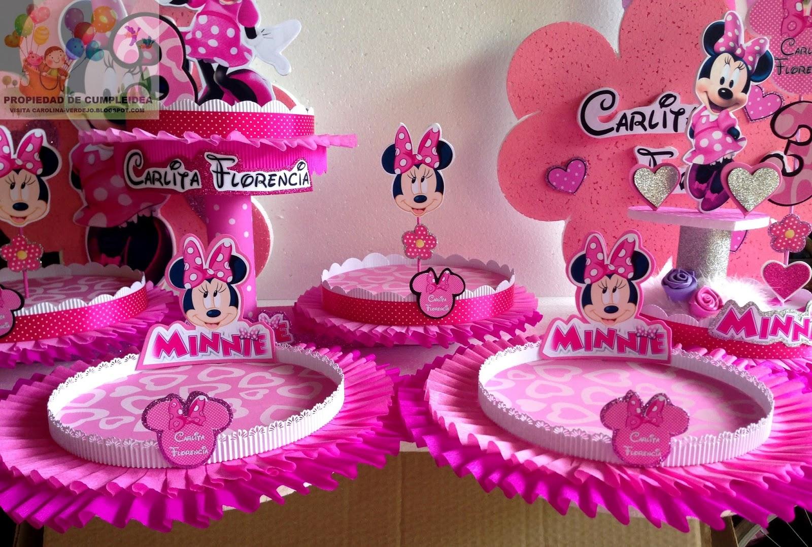Minnie Decoraciones Para Fiestas ~ Publicado por Carolina Verdejo S en 7 47