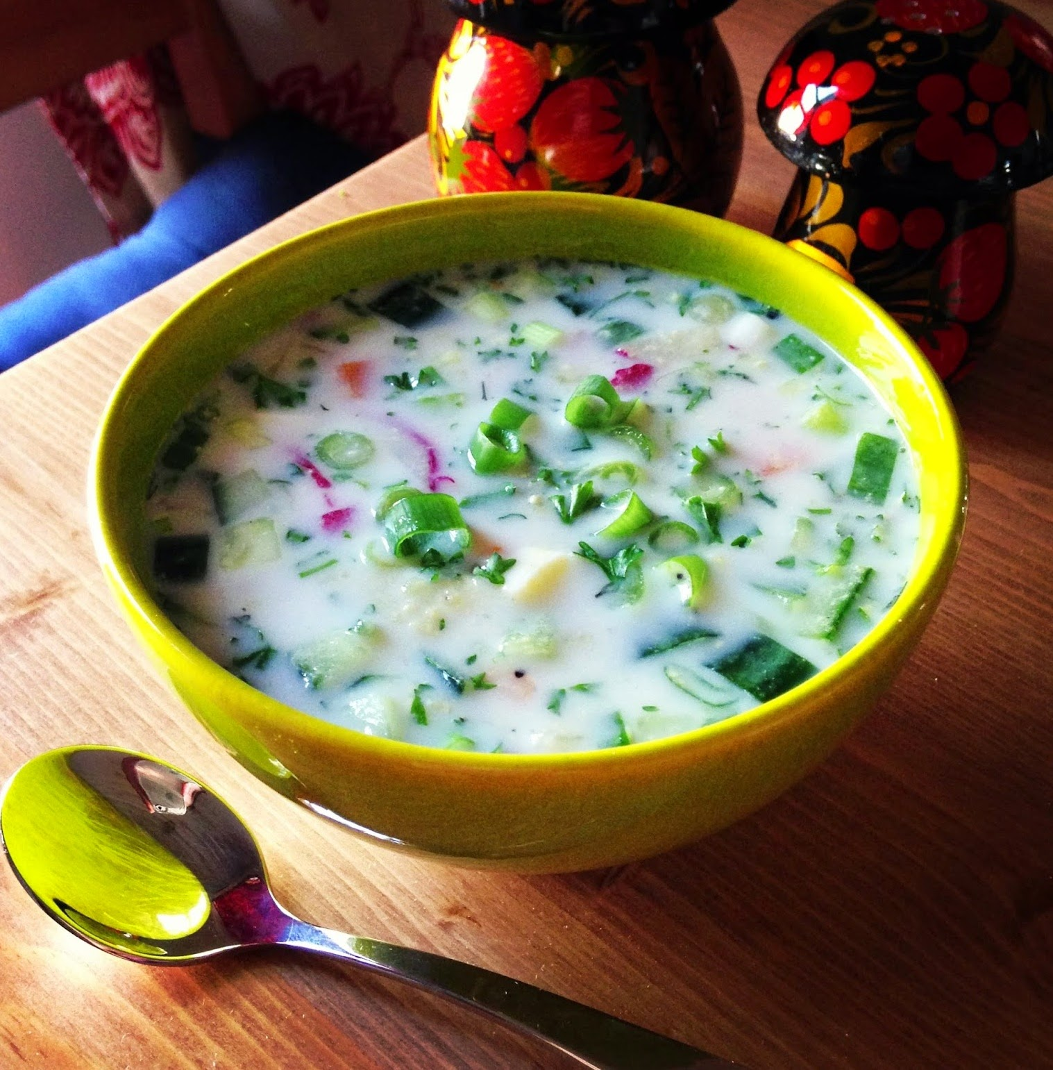 Okroshka on mineral water: 7 recipes 52