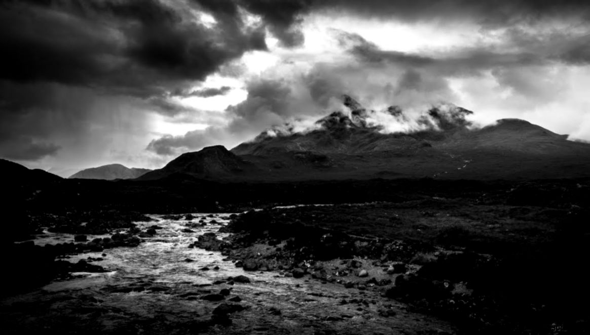Black And White Landscape Photography Editing in Lightroom   Dark