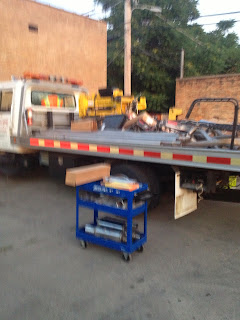 Equipment -Hauling-Transfer-car-unloading-truck