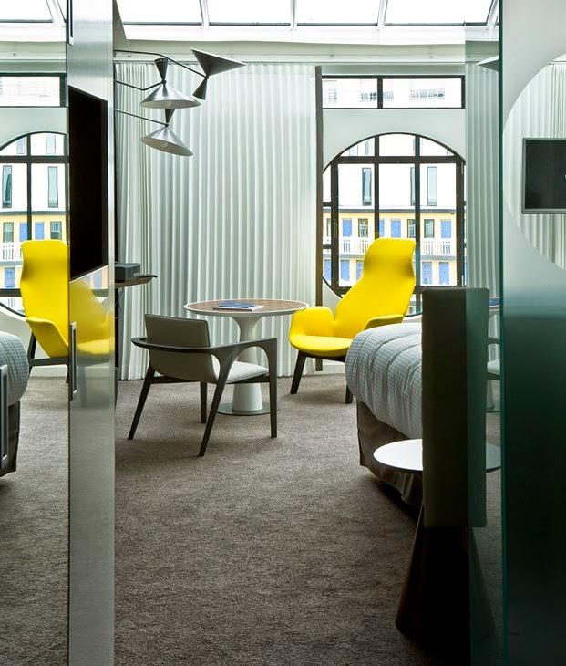 Hotel Molitor, habitaciones