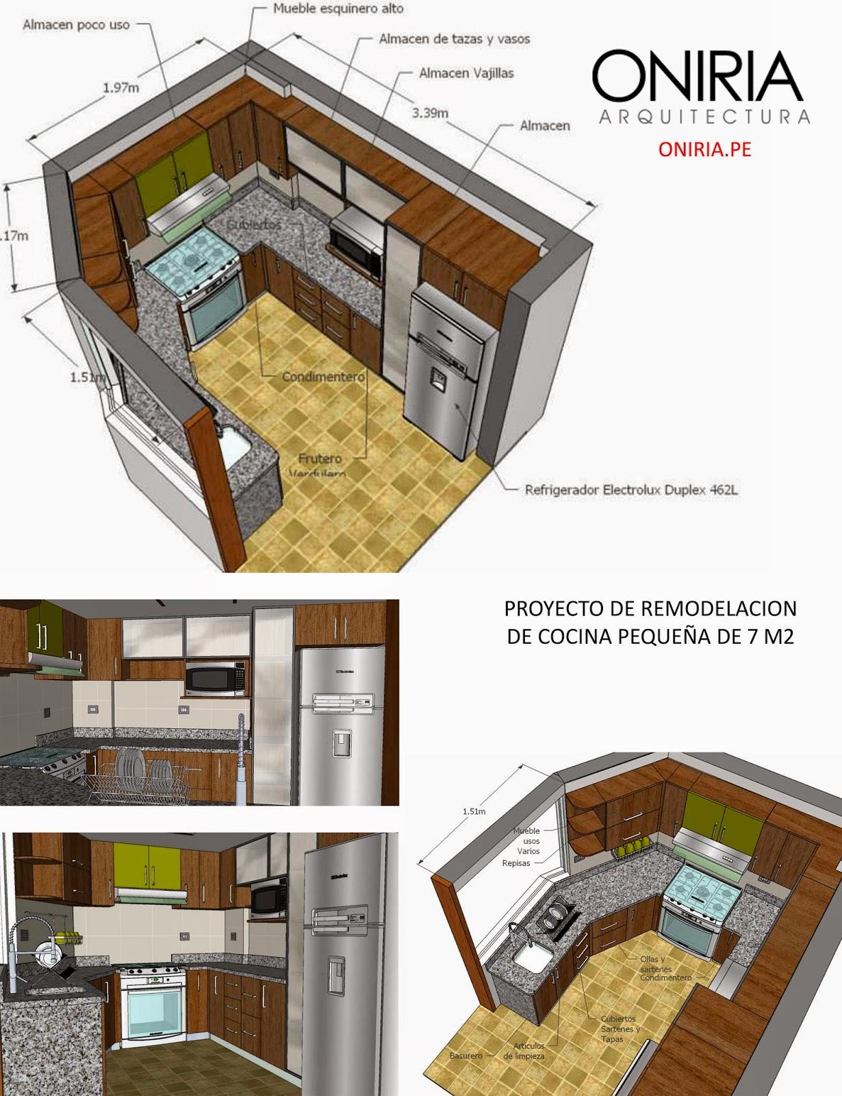 Cristian campos proyecto de remodelacion de cocina for Remodelacion de cocinas pequenas