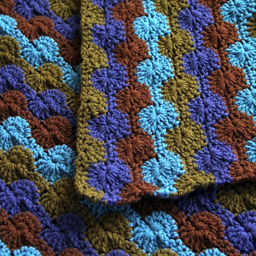 Commission Jungle Catherine Wheel Blanket