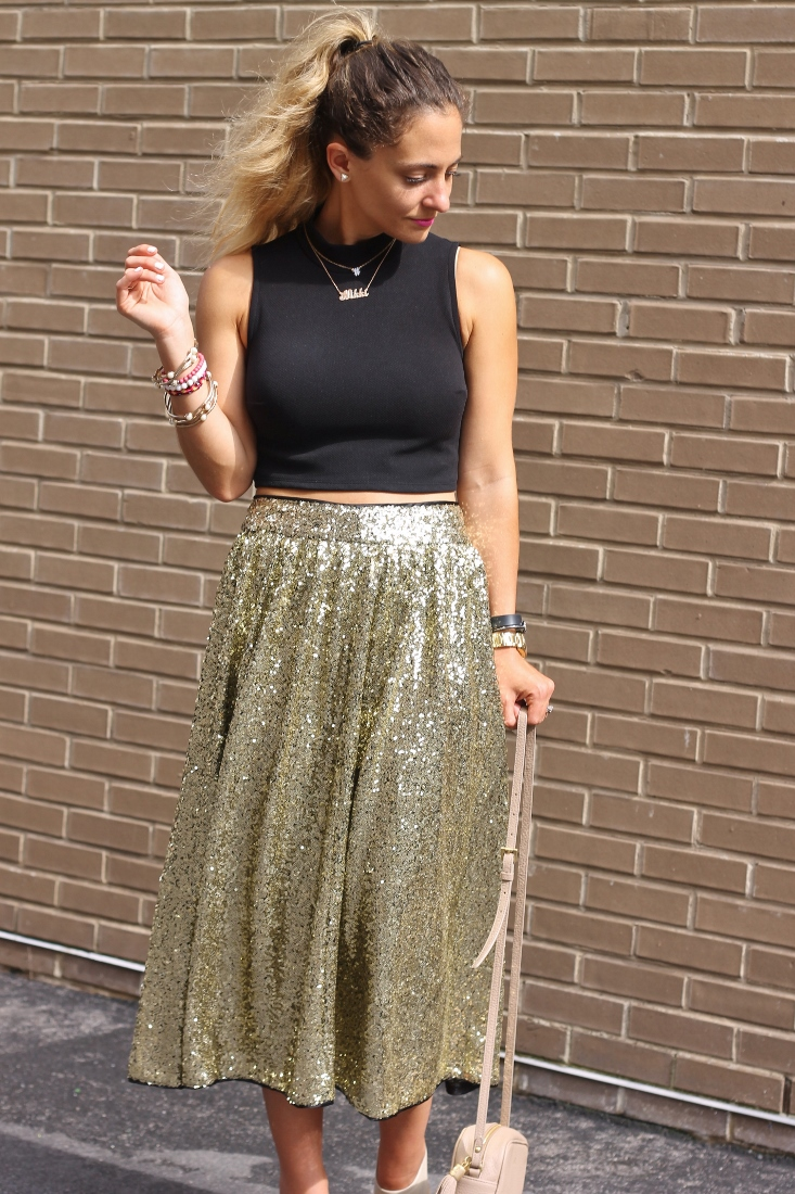 Bedazzles After Dark: Outfit Post: Just A Little Sparkle
