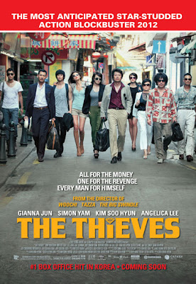 The Thieves Korean film movie poster