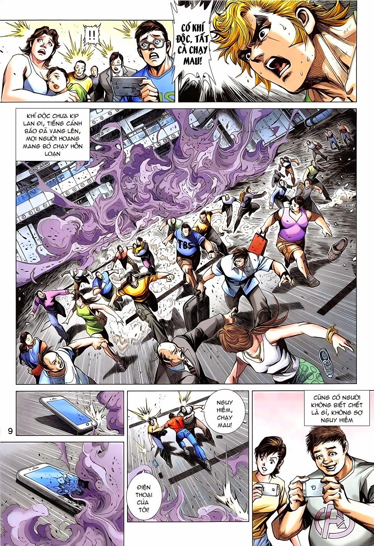 Tân Tác Long Hổ Môn chap 783 Trang 9 - Mangak.info