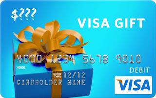 $145 Visa Gift Card