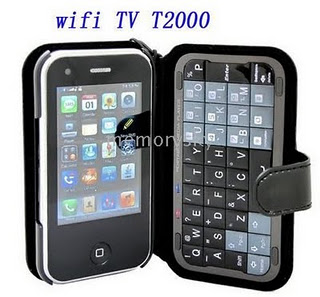 touch screen quad band t2000 quad band tv mobile wifi tv t2000