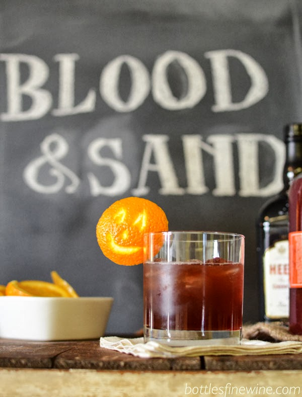 Blood and Sand - Scotch Cocktail Recipe