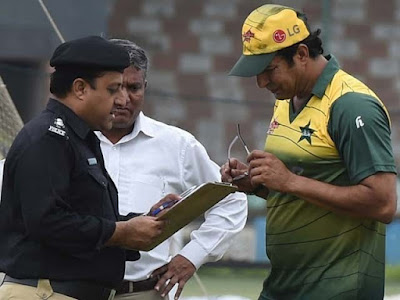 Wasim Akram fired case, the court hearing the police submitted a final order