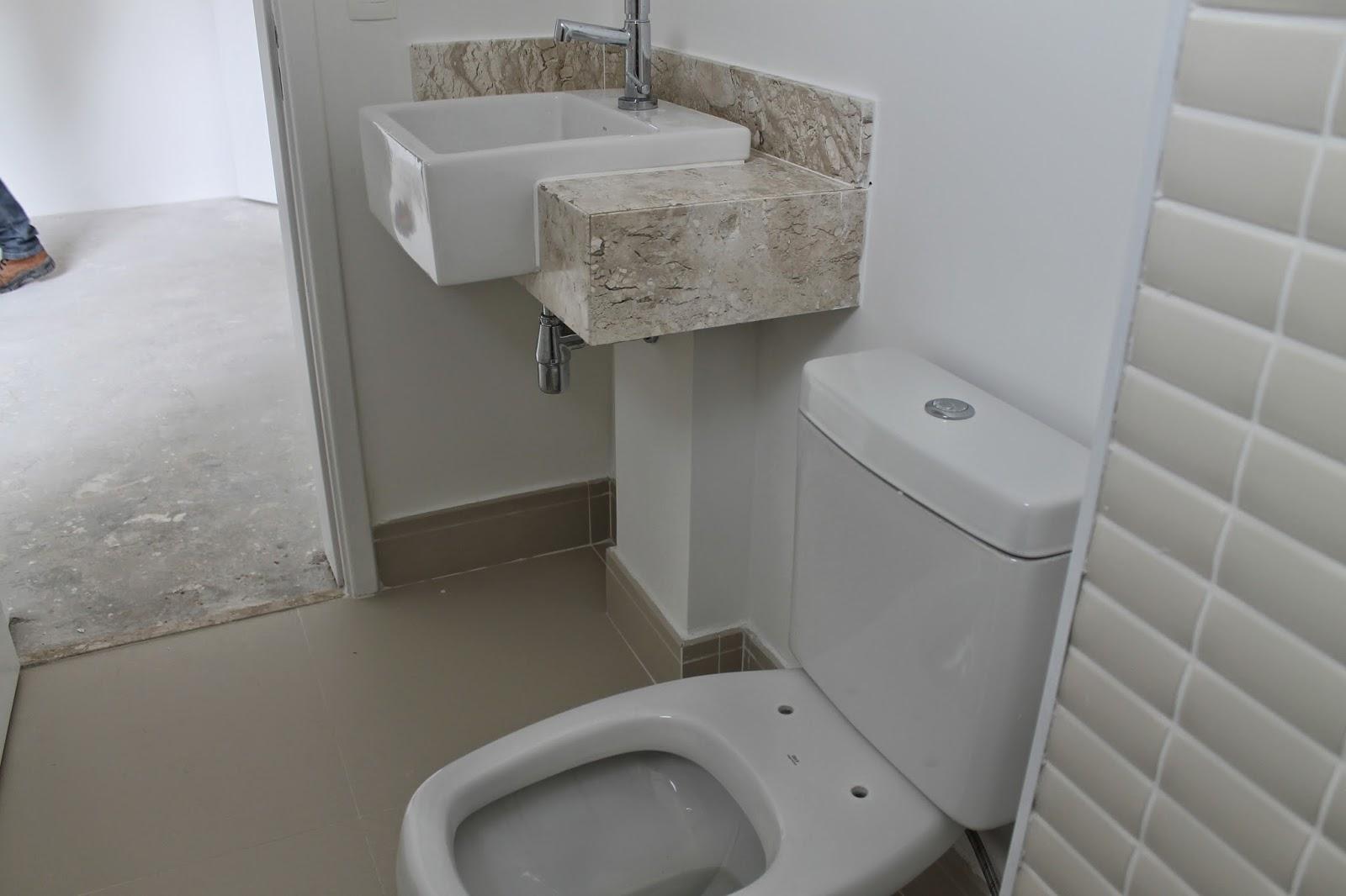 Banheiro Com Porcelanato Travertino  rinkratmagcom banheiros decorados 2017 -> Cuba Banheiro Travertino