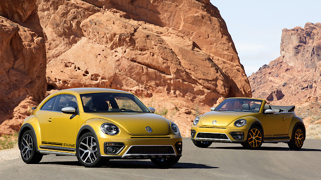 World premiere of the new Volkswagen Beetle Dune at The Los Angeles Auto Show