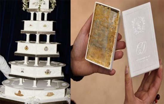 Lelongan sepotong kek kahwin Puteri Diana