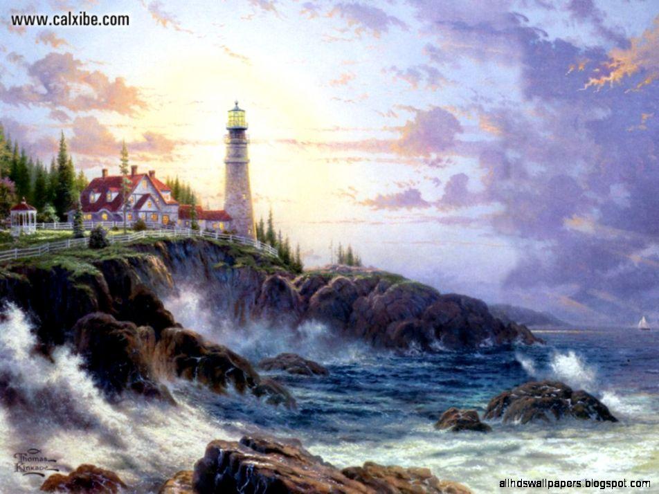 """Painter of Light"""" Thomas Kinkade dies at 54  blogsense by barb"""