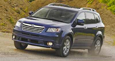 2012 Subaru Tribeca Blue