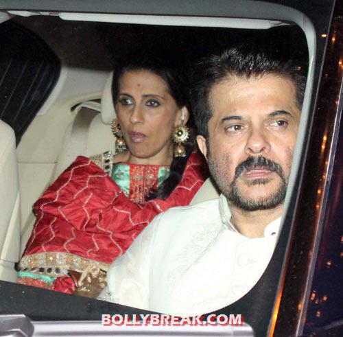 Sunita and Anil Kapoor - (7) - Amitabh Bachchan Diwali Bash Photos
