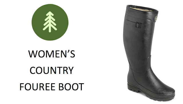 Le Chameau Country Fouree Womens Wellington Boot