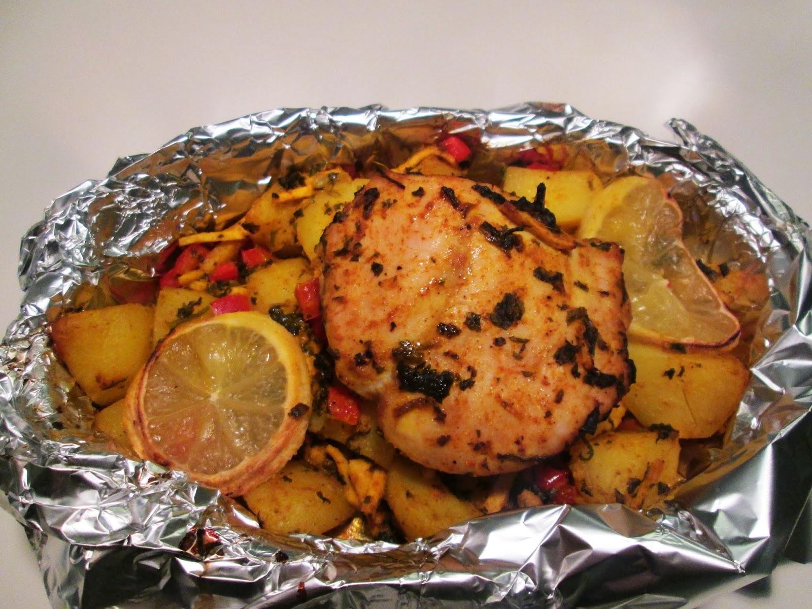 kylling i ovnene