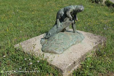 Žena s tačkama - Kosta Angeli Radovani, 1947.