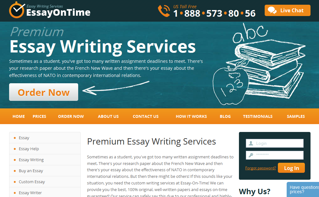 reputable essay writing services Looking for a world-class essay writing service ultius offers every type of essay service for a wide variety of topics 24/7 support and american writers.