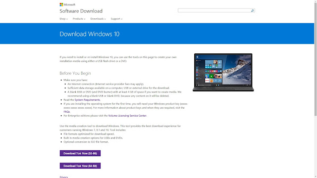 Download Microsoft Windows 10 Home And Windows 10 Pro 32-Bit & 64-Bit ISO Images