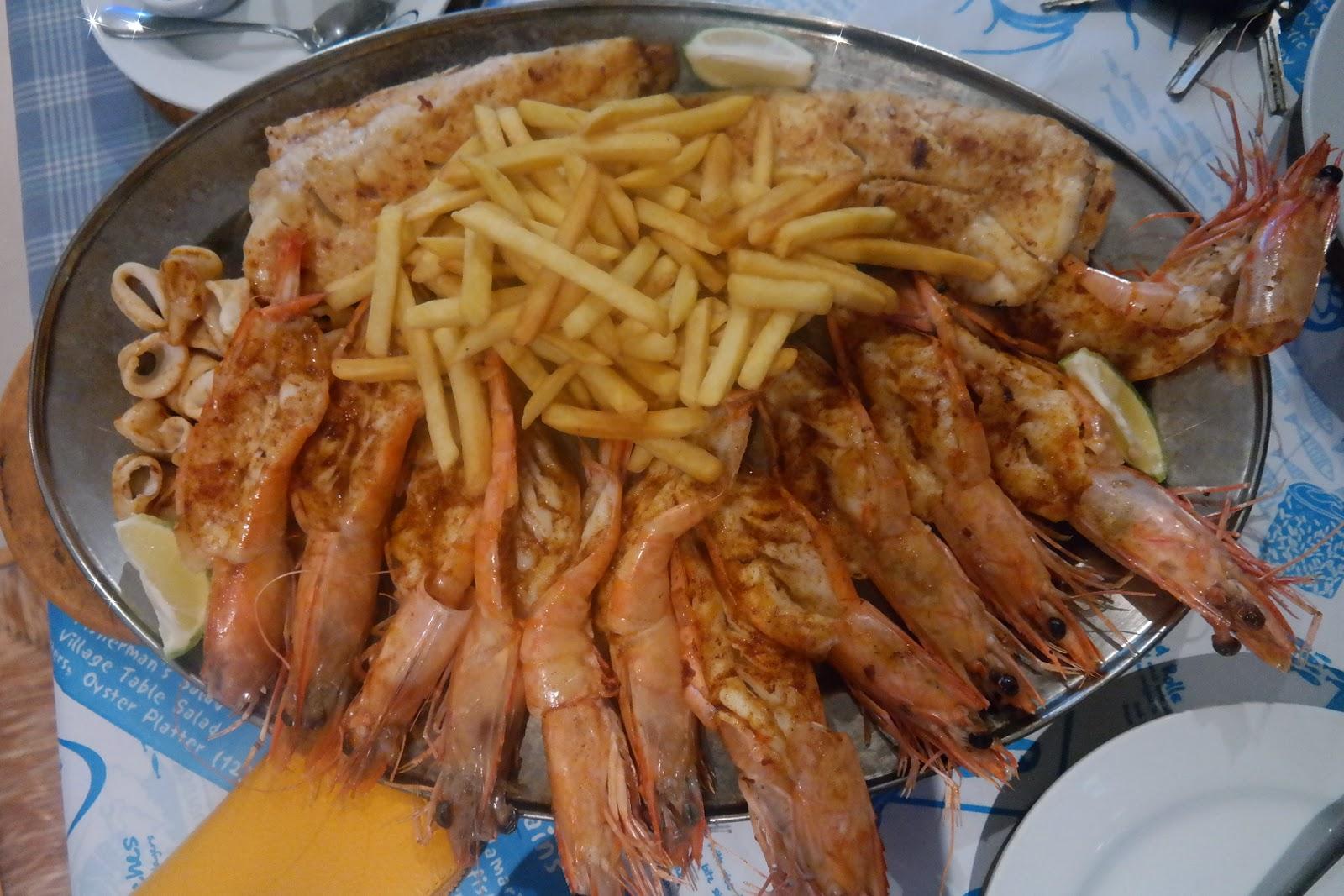 ocean basket seafood platter