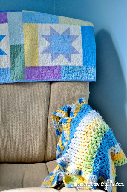 Crochet Cluster V-Stitch Baby Blanket {free crochet ...