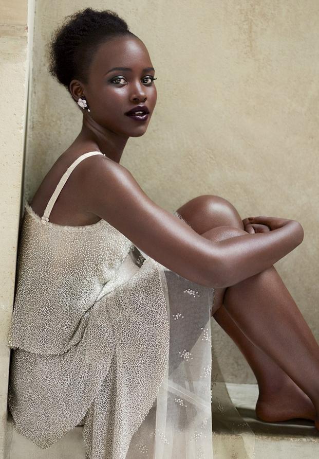Lupita Nyong'o Vogue 2015