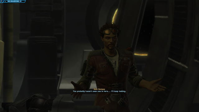 star wars the old republic, Knights of the Fallen Empire, Chapter V From The Grave koth awkward interrupt
