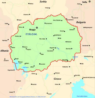 Laminas para Colorear | Coloring Pages: Mapa y Bandera de Macedonia ...