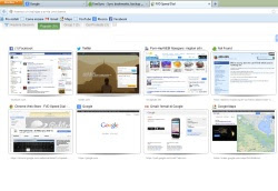 scheda di accesso rapido in Firefox
