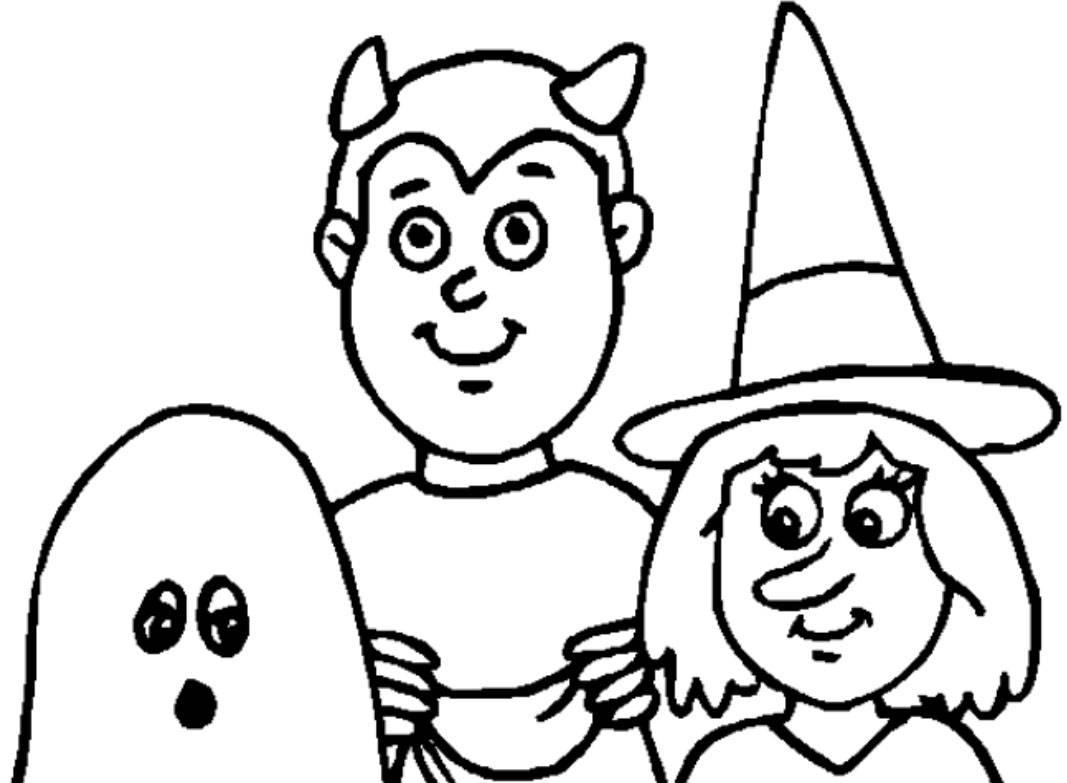 Banco de Imagenes y fotos gratis: Dibujos de Halloween para Pintar 3