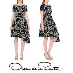 Sophie, Countess of Wessex Style OSCAR DE LA RENTA Dress