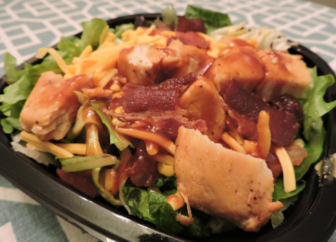 Wendy's BBQ Ranch Chicken Salad