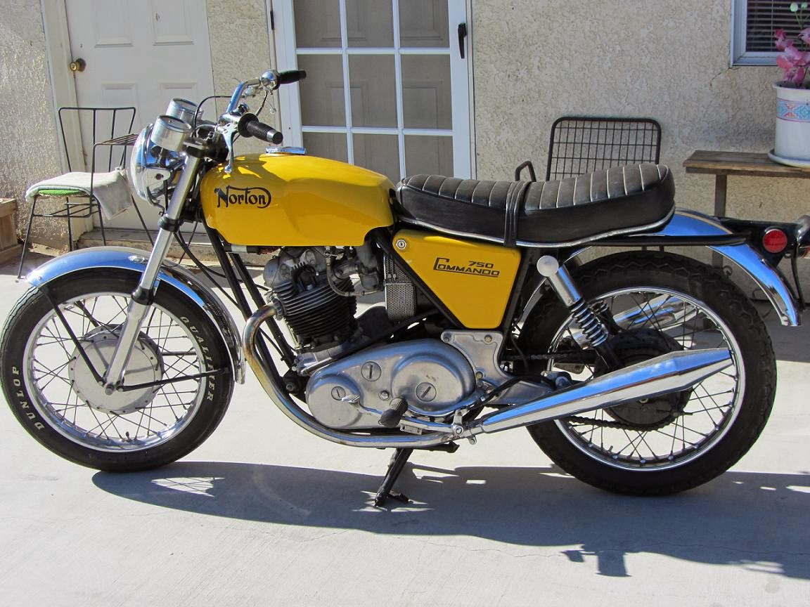 Americans Benefited From Some Of The Special Versions That Norton Developed Over Next Few Years Notably 1971 Model Commando SS A Street Scrambler