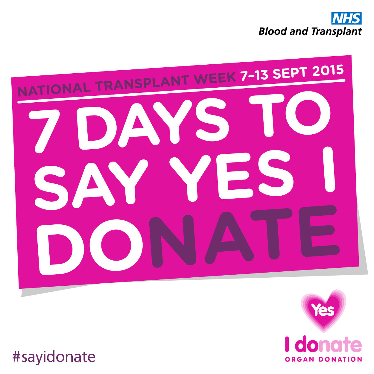 National Transplant Week 2015