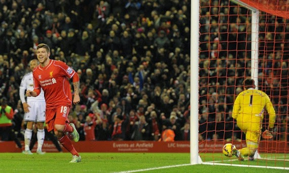 Highlight Liverpool vs Swansea City 4-1 30 December 2014